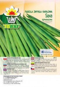 Fasola zwykła karłowa zielonostrąkowa Saxa szparagowa 500 g.