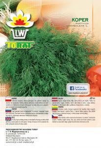 koper LW 796 16 rola naklejka