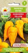 Papryka ostra Habanero Yellow