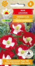 Mak lekarski Danish Flag