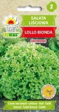Sałata liściowa Lollo Bionda