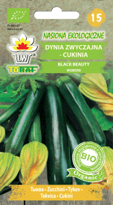 Dynia zwyczajna - cukinia Black Beauty BIO
